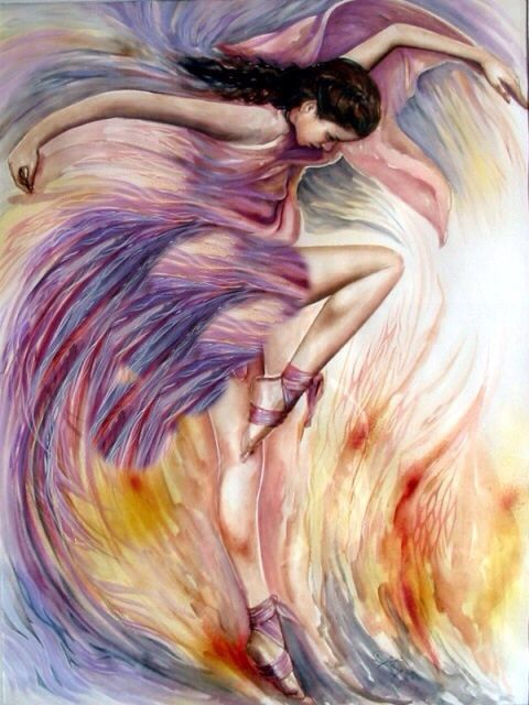 When the spirit of Yahweh moves in my heart, I will dance like David danced!!