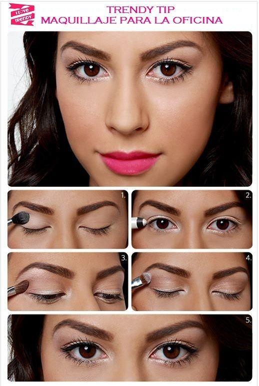 Maquillaje para la oficina  Conócenos:  http://www.facebook.com/ilovetrendy.co  http://ilovetrendyblog.wordpress.com/  I am trendy, I Love Trendy