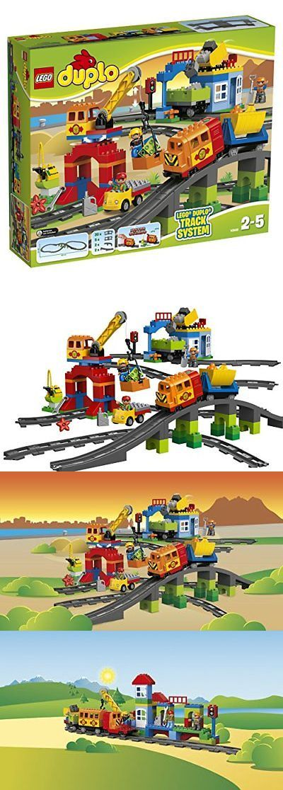 LEGO Branded Storage 183450: Lego Duplo Deluxe Train Set 10508 -> BUY IT NOW ONLY: $322.67 on eBay!