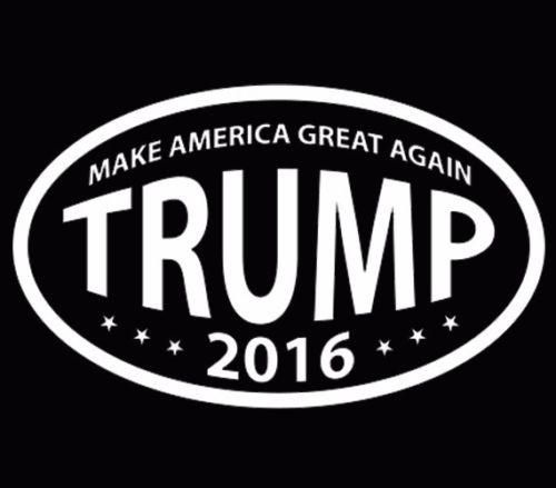Donald Trump for President Make America Great Again Trump White V6
