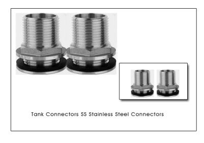 #TankConnectors  #StainlessSteelConnectors  We are manufacturers of Stainless Steel 304 fittings Stainless Steel 316 fittings Threaded fittings pipe connectors and #tankconnectors as per customer specifications and prints.  We have high speed CNC machines offering top end Stainless Steel connections and tank connectors.
