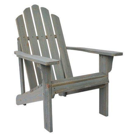 Marina Rustic Adirondack Chair - Dutch Blue