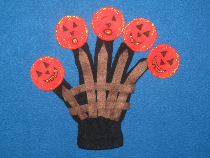 5 Little Pumpkins Sitting on a Gate Felt Story Or Finger Puppets by PlayfulPathFelts on Etsy