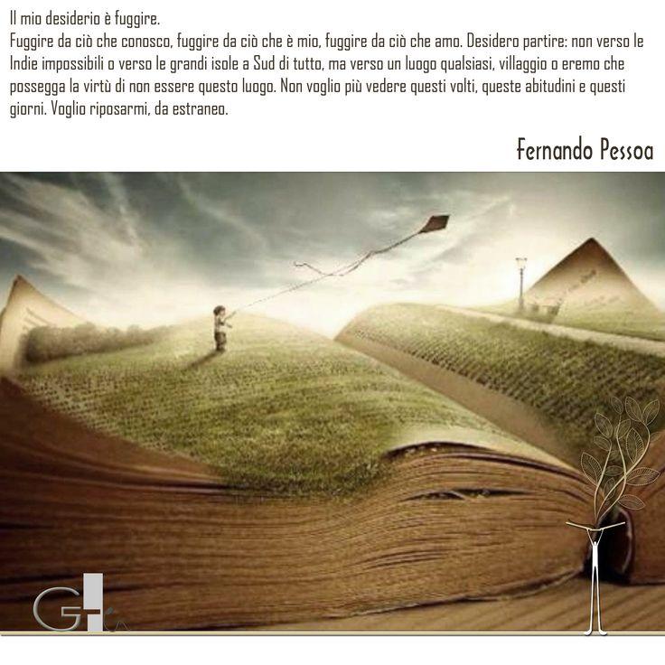 #citazioni: Fernando Pessoa   #book #reading #quote   @G a i a T e l e s c a   GAIA TELESCA  
