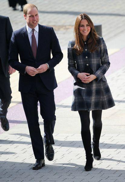 Кейт Миддлтон и принц Уильям стиль