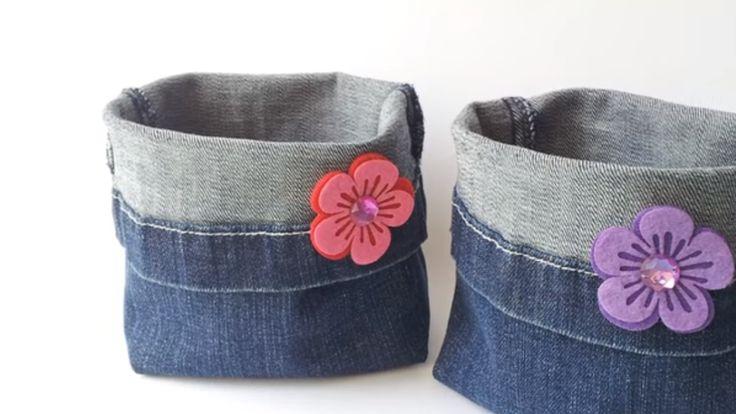 DIY: maak iets moois van je oude jeans