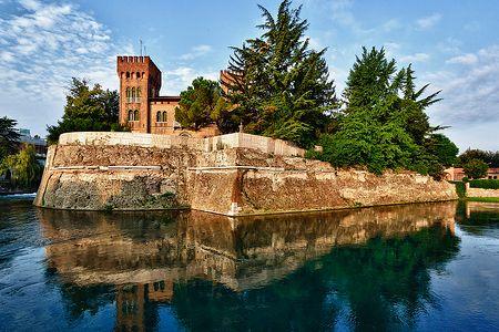 Mura e castello di Treviso