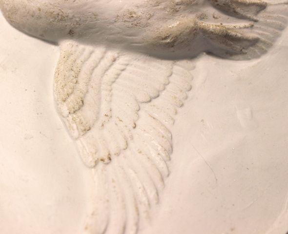 Detail of Silicone Rubber Master Mould by KissMeKateCeramics for Hollie & Ollie www.kissmekateceramics.co.uk