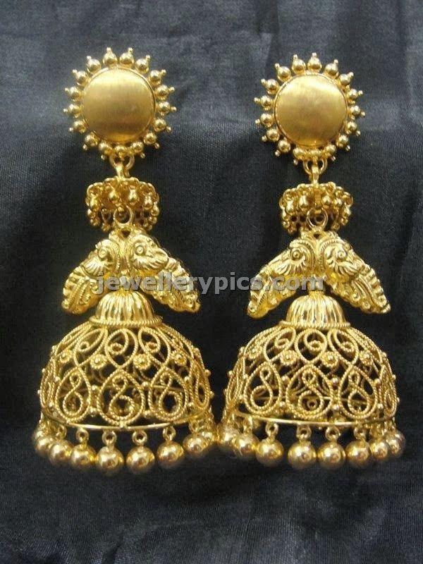 Filigree buttalu designs at Gehna jewellers - Latest Jewellery Designs