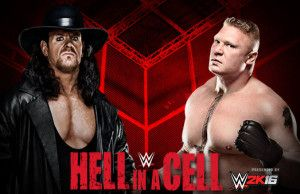 Brock Lesnar Vs The Undertaker Match Officially Announced For WWE Hell in a Cell 2015 PPV