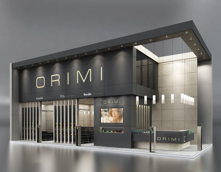 ORIMI exhibition project on Behance