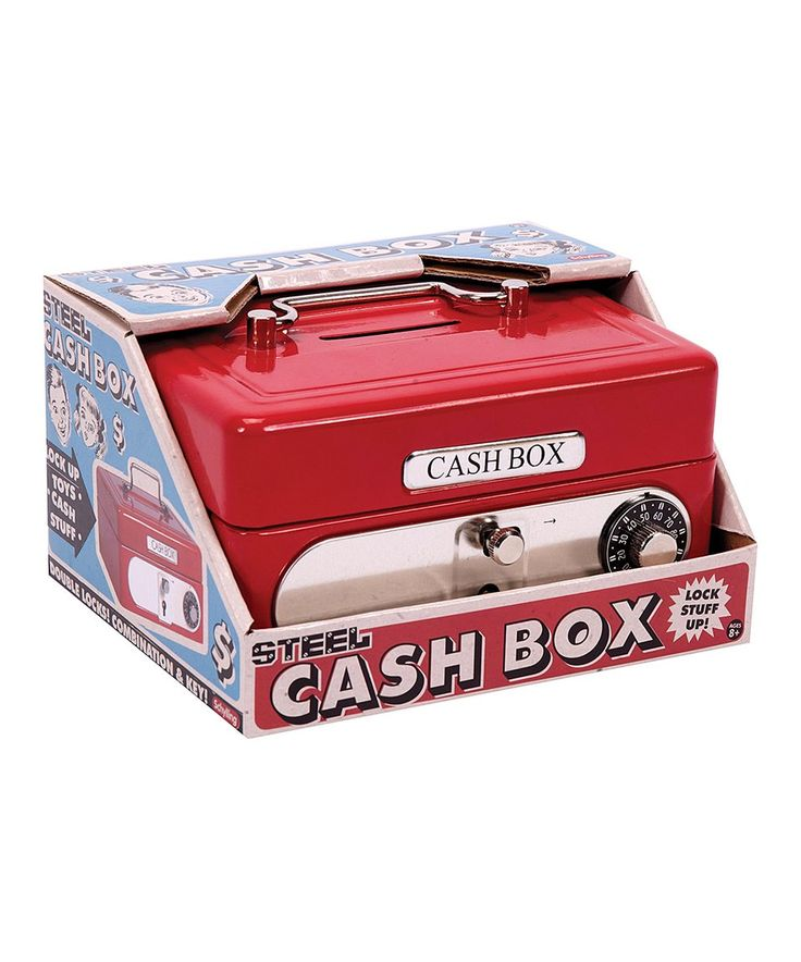 Take a look at this Locking Cash Box today!