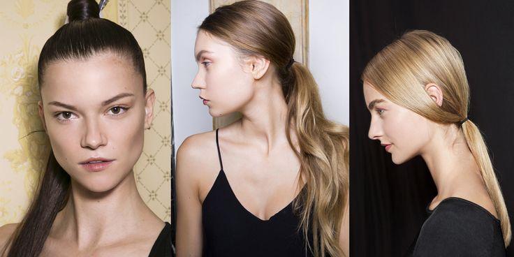 La ponytail ci piace molto e piace anche agli stilisti. Si porta alta come propone Balmain, perfetta per l'estate, oppure bassa con i capelli mossi, come proposta da Beccaria, o lisci secondo lo stile di Christian Dior.   -cosmopolitan.it