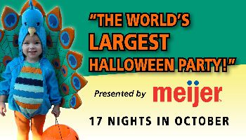 """The World's Largest Halloween Party!"" presented by Meijer 