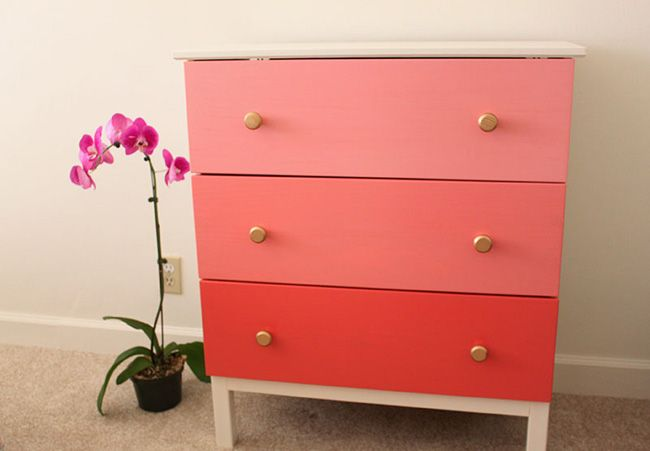 One of the prettiest Ikea Hacks ever!  Lots of ideas here... #ikeahack