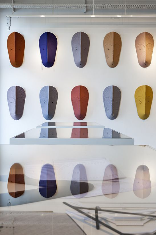 We took the expressive installation MASK to Kvadrat's Copenhagen showroom for 3 Days of Design