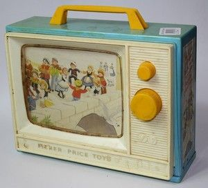 Fisher Price TV - I finally found one like I remembered. I kept seeing all these red ones, but I remembered mine being blue.