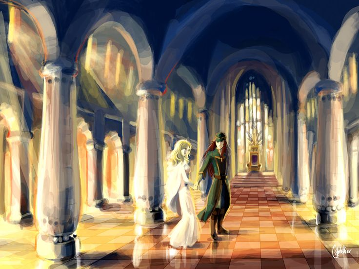 Joshua and Natasha, home. Fire Emblem Sacred Stones