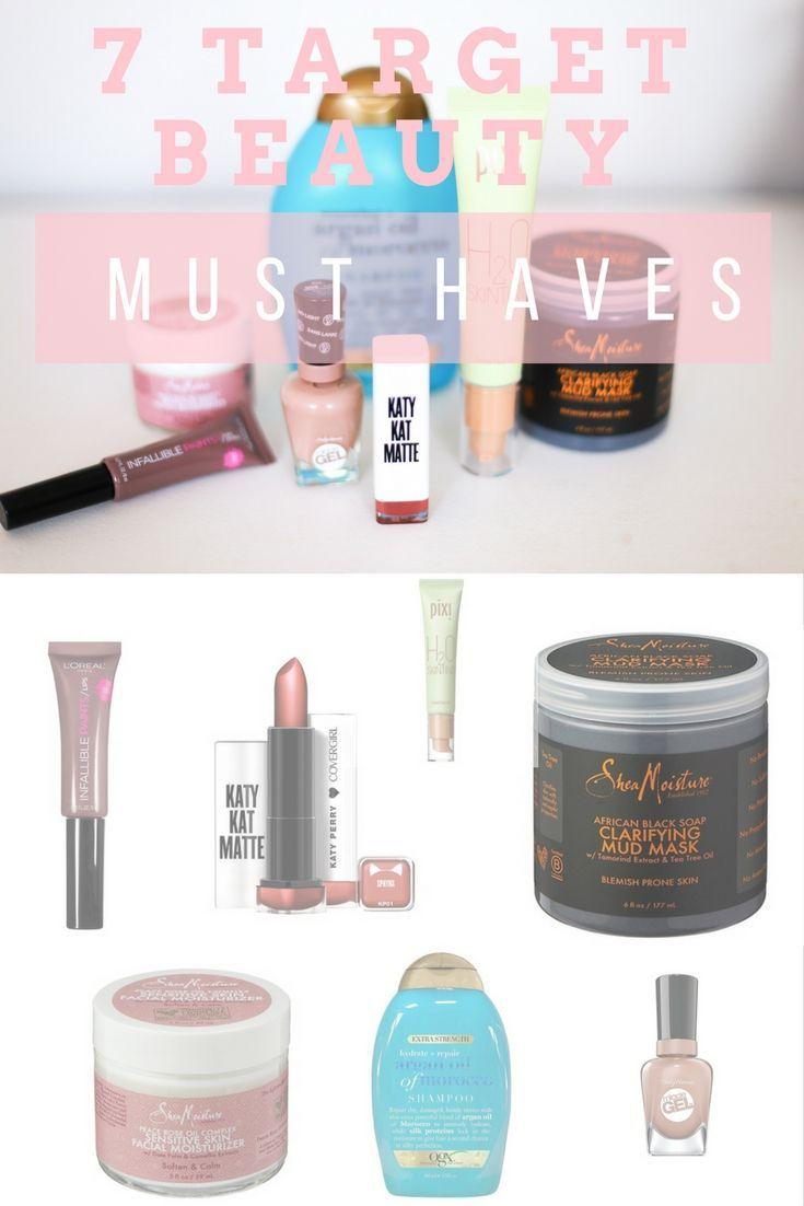 7 Target Beauty Must Haves Tessa Kirby Blog Target Beauty Beauty Must Haves Target Makeup