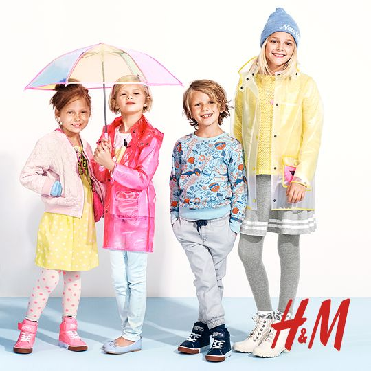 Get the kids ready for spring at H&M! Check out the new spring kids collection at H&M and print off your coupon for 20% off your entire purchase.
