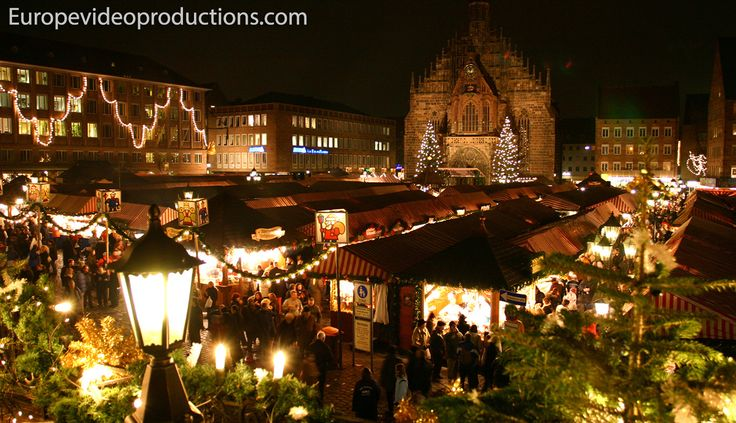 Christkindlesmarkt – Mercadillo navideño de Nuremberg en Alemania