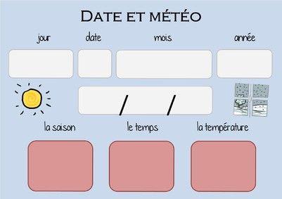 RITUEL calendrier perpétuel pour date et météo