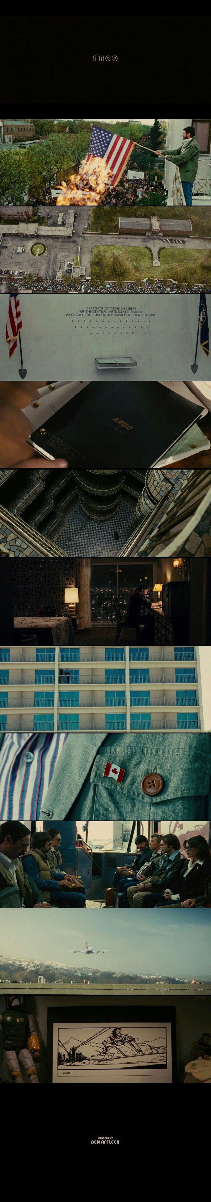 Argo(2012) Directed by Ben Affleck.