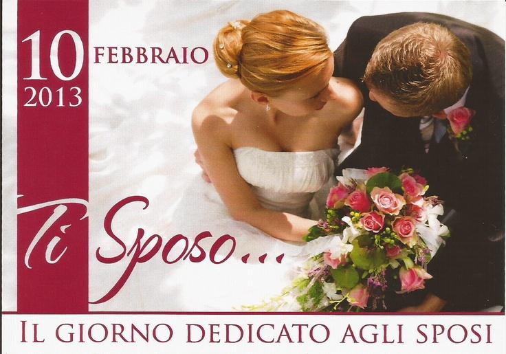 Evento Ti Sposo 10 febbraio 2013