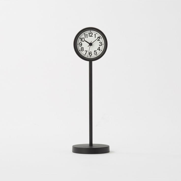 公園の時計・ミニ 置時計・ブラック | 無印良品ネットストア