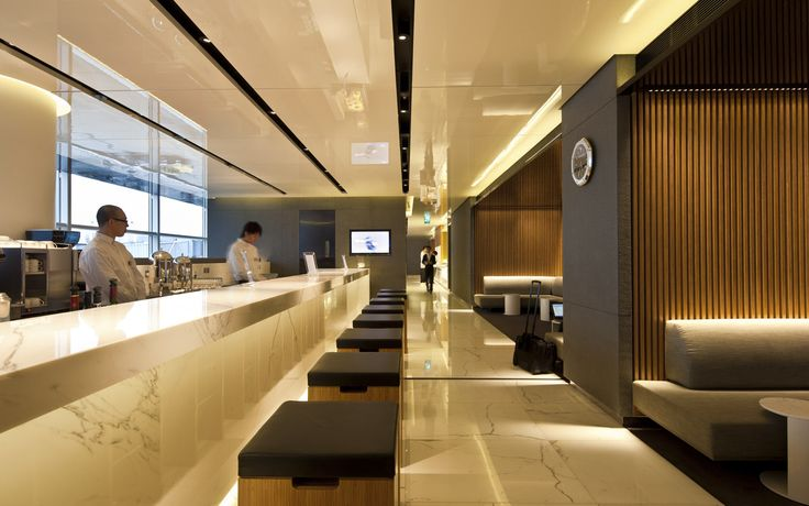 View Cathay Pacific lounges in Hong Kong International Airport, designed by Foster and Partners practice. Read more about the challenge here.