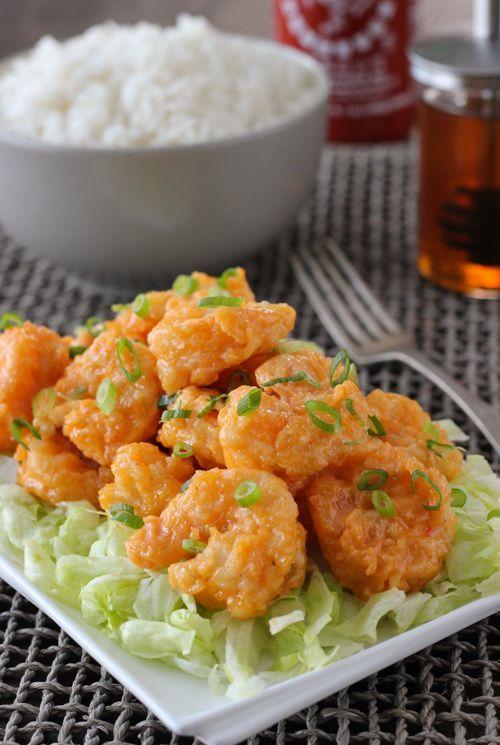 Bang Bang Shrimp, made at home. So good!!