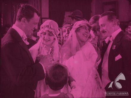 CUD NAD WISŁĄ - dir. Ryszard Bolesławski (1921).  #wedding