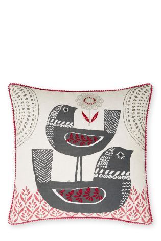 Buy Bosphorus Bird Cushion from the Next UK online shop