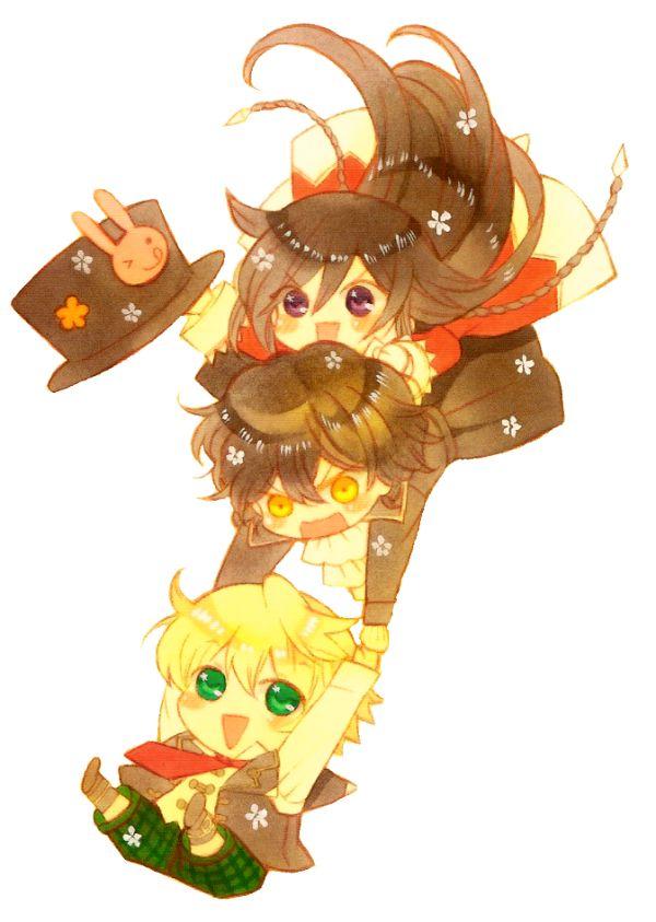 Alice, Gilbert & Oz