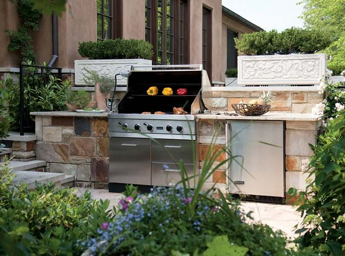 46 best outdoor kitchen images on pinterest