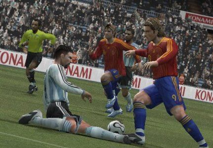 Pro Evolution Soccer 6 Video Game Screenshots