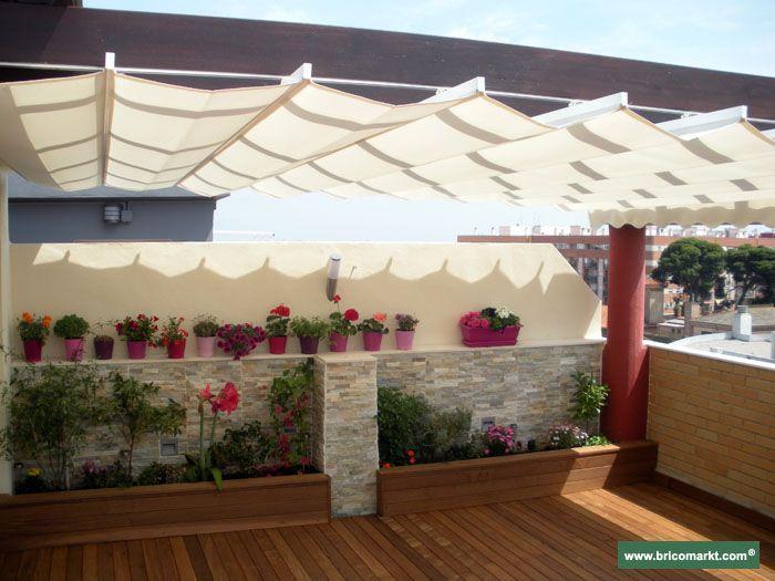 Best 25 toldos para pergolas ideas on pinterest toldos for Toldos para patios precios
