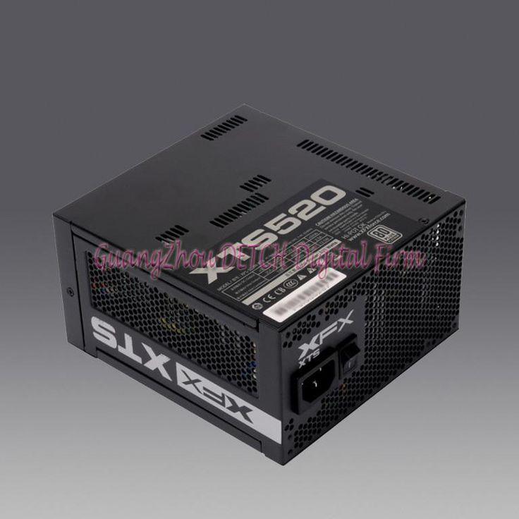 Номинальная мощность 520 Вт безвентиляторный настольный белое золото полный компьютерный модуль питания