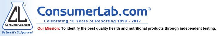 ConsumerLab.com - independent tests and reviews of vitamin, mineral, and herbal supplements