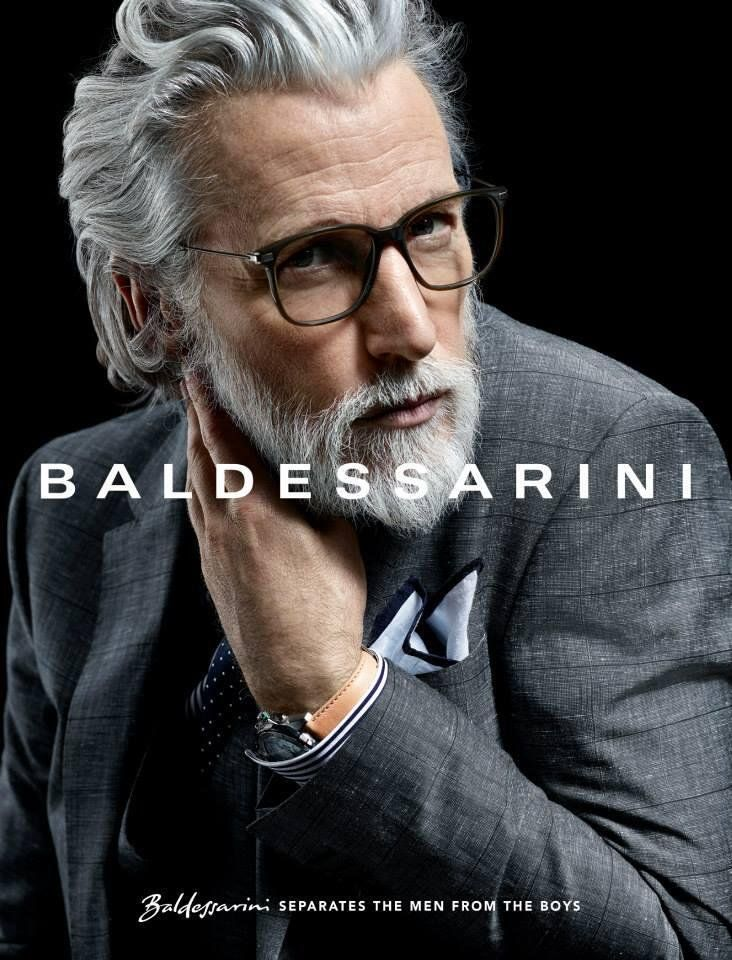 Aiden Brady On Grey Hair Men Mens Hairstyles With Beard