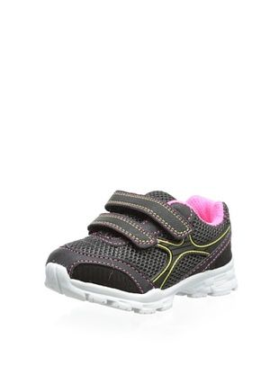 32% OFF Carter's Kid's Dash Sneaker (Black/Grey/Pink)
