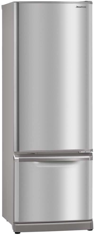 Mitsubishi 390 Litre Fridge Freezer Stainless Steel $1499.99 from Noel Leeming