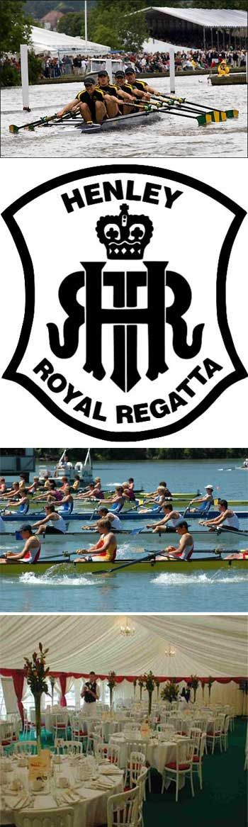 Henley Royal Regatta was born on this day 26th March 1839 at a public meeting held in Henley Town Hall. It was decided that the introduction of an annual regatta would attract visitors to the town and be a source of amusement to the locals. The regatta lasts for 5 days over the first weekend in July. The most prestigious event is the Grand Challenge Cups for the Men's Eights which has been awarded since the regatta began. Henley, Berkshire, England