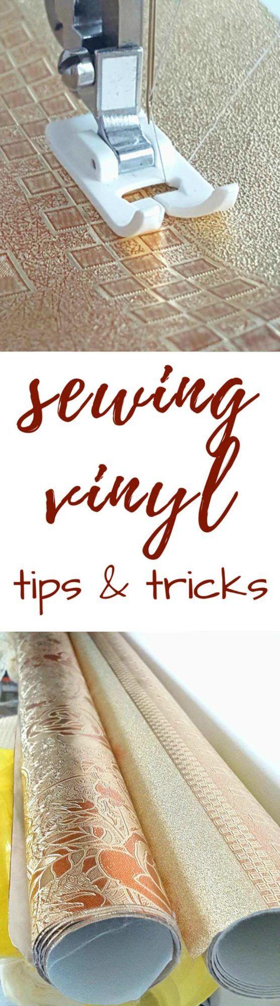 CS - SEWING VINYL TIPS AND TRICKS