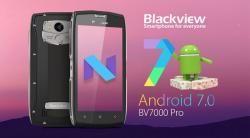 Blackview BV7000 Pro обновился до Android 7.0 Nougat    Современные смартфоны с каждым годом становятся все производительнее и функциональнее. Но у этой эволюции есть другая сторона — мобильные устройства достаточно быстро перестают быть актуальными и производители теряют интерес к ним, прекращая их поддержку. В этой ситуации стоит похвалить компанию Blackview, которая, невзирая на выход Blackview BV8000 Pro, выпустила апгрейд до Android 7.0 Nougat для его предшественника BV7000 Pro…