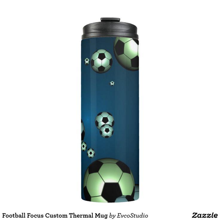 Football Focus Custom Thermal Mug