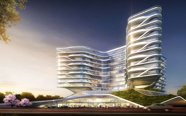 Shanghai International Hospital- China- HOK