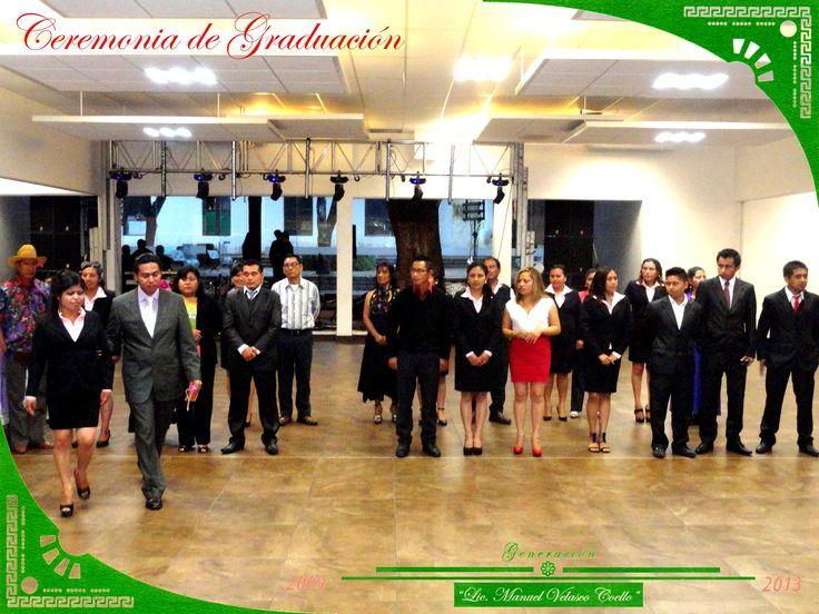 """Egresandos del grupo """"B"""", de la Licenciatura en Educación Primaria Intercultural Bilingüe."""