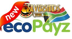 #SilverSandsCasinoZAR is pleased to announce a new deposit method, namely #ecoPayz. EcoPayz offers the player a quick, secure and cheap payment method by which they can credit their accounts or request withdrawals.  We are offering a deposit promotion which offers the player a 100% bonus up to R1000 which can be used three times using the ecoPayz deposit method. The coupon code for this promotion is ECO100  Wagering for this promotion is set at 10 times the deposit plus bonus amount and…