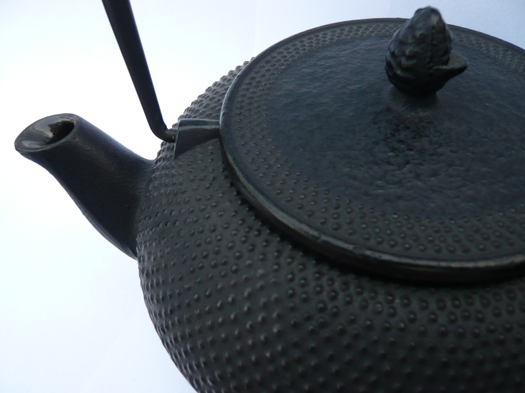Japanese Cast Iron Teapot, that I sell at my store www.tante-t.dk